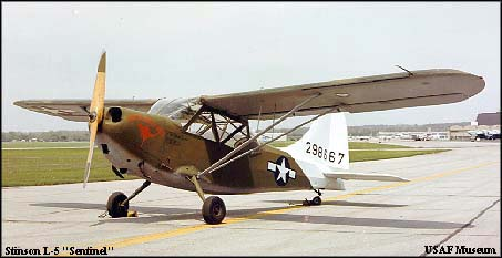 Stinson L-5 Sentinel, the First FAC | Aircraft Market Place